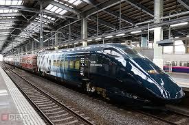 黒い新幹線が運行の上越新幹線に乗ろう