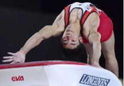 白井 跳馬でも金!内村超える日本最速21歳で世界大会のメダル「10」